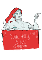 CLOSSED // XMAS COMMISSIONS by GPinos
