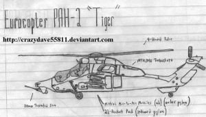 Eurocopter PAH-2 Tiger by CrazyDave55811
