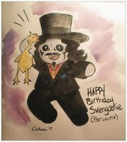 Happy Birthday Svengoolie by ChibiCelina