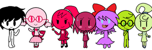 Anon Babies by CaffrinLuvsDHMIS