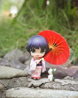 Nendoroid Yune outside by kixkillradio