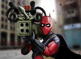 Batpool Army of one by HeroforPain