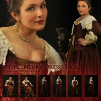 17th Century Dress Pack by Georgina-Gibson