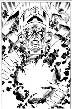 Galactus inks by madman1
