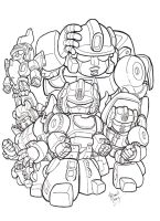 DINOBOTS by dGREAT1