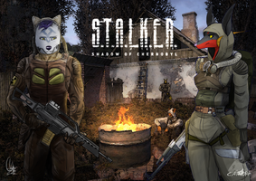stalker - collab by Caindra