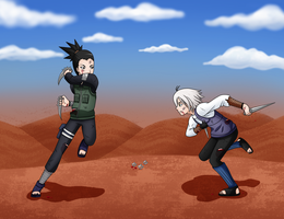 Konohagakure vs Kirigakure by Misfitts