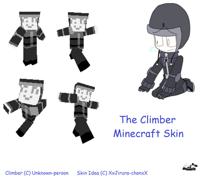 Minecraft Skin - The Climber by XxJerra-chanxX
