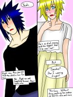 SasuNaru 9 months Pregnancy Week 8 I love him... by YamiRiusu