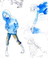 Jack Frost Doodles by Zinfer