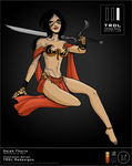 TRDL 2015 Series No 17 Dejah Thoris by TRDLcomics