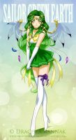 Sailor Green earth by krilin86
