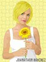 PUSHING DAISIES - OLIVE by dabuzz80