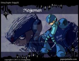 Megaman Wallpaper by Pen-and-PaperPaladin