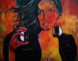 Female DJ by ASanchezDesigns