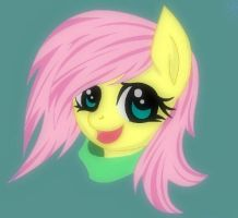 Fluttershy by ChaoticCoffee64