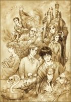 Harry Potter and the HB Prince by daekazu