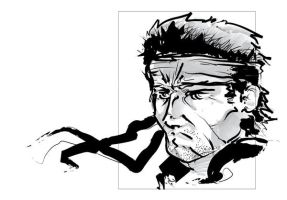 Solid Snake by SLO-MO
