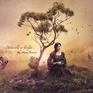 .:Alone with my thoughts:. by SummerDreams-Art