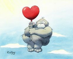 Gorilla Love by ColbyBluth