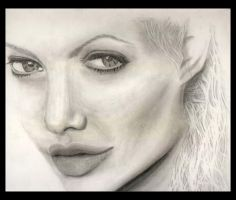 First Angelina Jolie by Faye1891