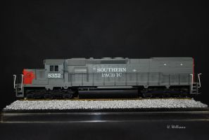 Southern Pacific SD40T-2 by 12jack12
