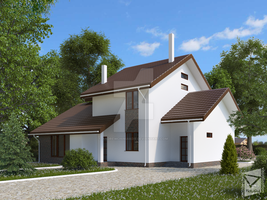 House 3D-visualization by AndrewChiniakov