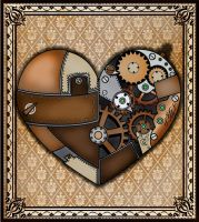 Steampunk Heart by CatherinetteRings
