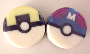 Ultra and Master Balls by fuzzykittn