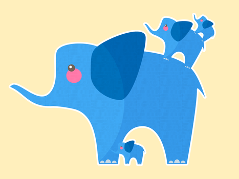 Elephant Stack by apparate