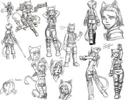 Mithra_of_Ivalice_Concept_1 by Jjnnyrr