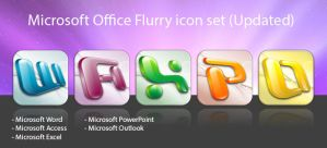 Flurry Office Icon set by Black-Sephiroth