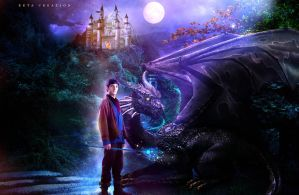 Merlin (the last dragon lord) by ektapinki
