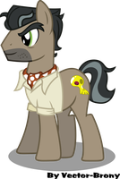 Dr. Caballeron by Vector-Brony