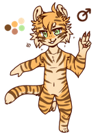 tigersona by SpectralCoyote