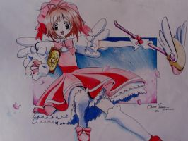 Sakura card captors. by Oscarliima