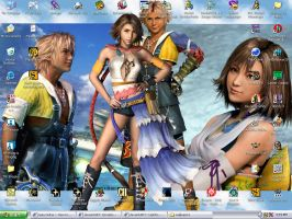 Tidus and Yuna by sweetangelookami