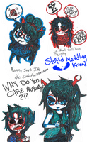 blueberries like Dr.Suess by i-rome