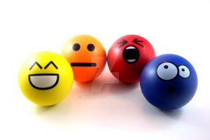 Emoticon Stress Balls by Anndi