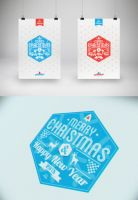 Merry Christmas Card 2013 by Lemongraphic
