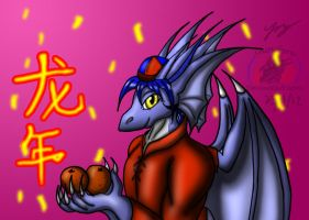 Welcome the Year of the dragon 2012 by Snowfyre