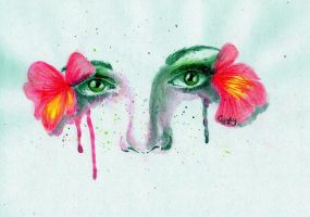 Flower Eyes by Cindy-R