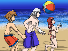 For the KH Summer Contest: SRK Volleyball by Dark-Momento-Mori