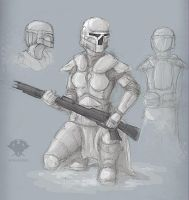 Snow Mando by hydraness
