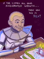 Captain Rex's Birthday by thehaydenclone