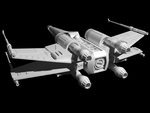 x-wing by Tweakl