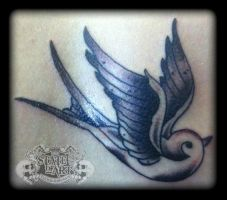 Swallow by state-of-art-tattoo