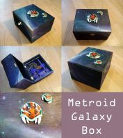 Metroid Galaxy Box by Quartknee