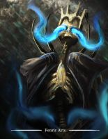 Skeletron Lord by Fenrir--the-2nd