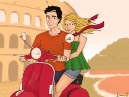 Love in Rome by Isuani